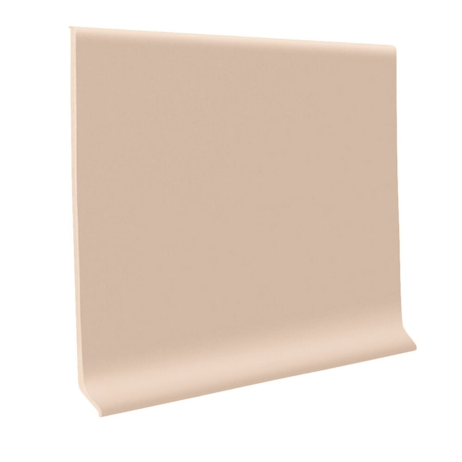 FLEXCO 30-Pack 4-in W x 4-ft L Dune Thermoplastic Rubber Wall Base