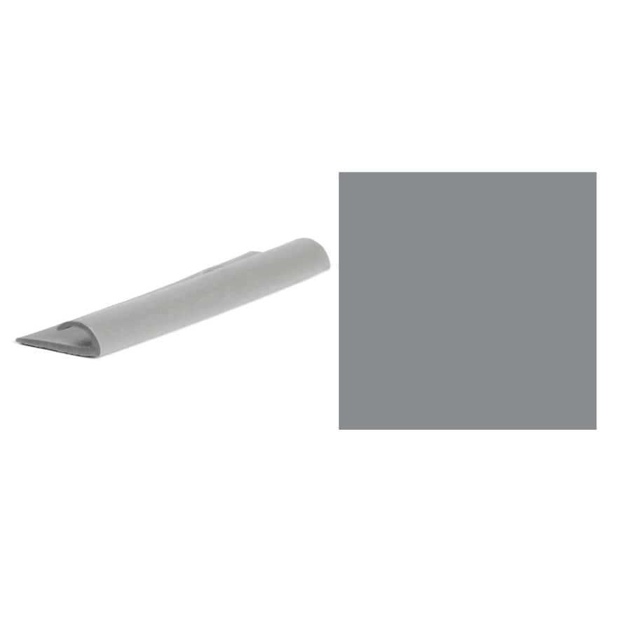 FLEXCO 50-Pack Gray Tapered Resilient Cove Caps