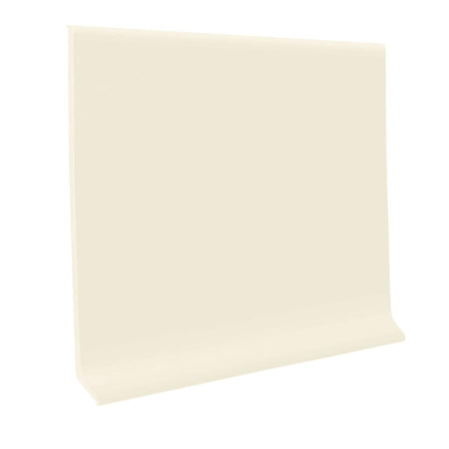 FLEXCO 30-Pack 2.5-in W x 4-ft L Baby's Breath Thermoplastic Rubber Wall Base