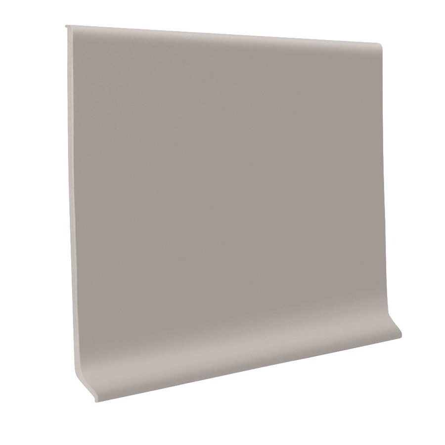 FLEXCO 30-Pack 2.5-in W x 4-ft L Pebble Thermoplastic Rubber Wall Base