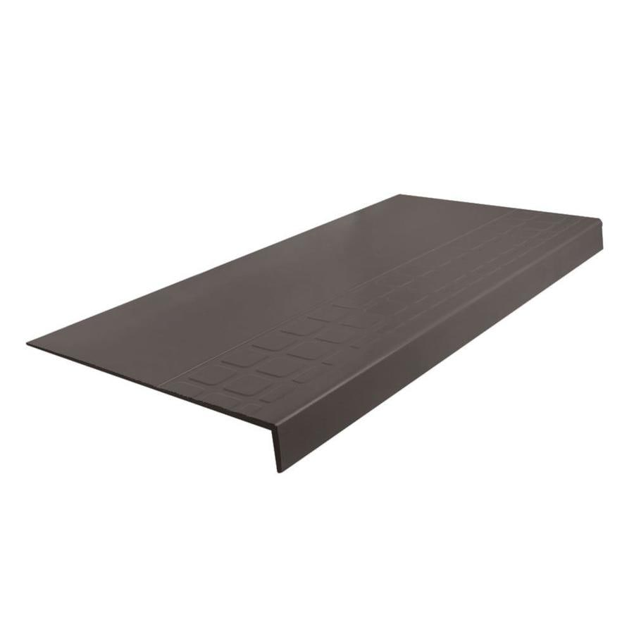 "FLEXCO FLEXCO Rubber Stair Tread Square Design Square Nose #800 12.25""x.25""x48"""