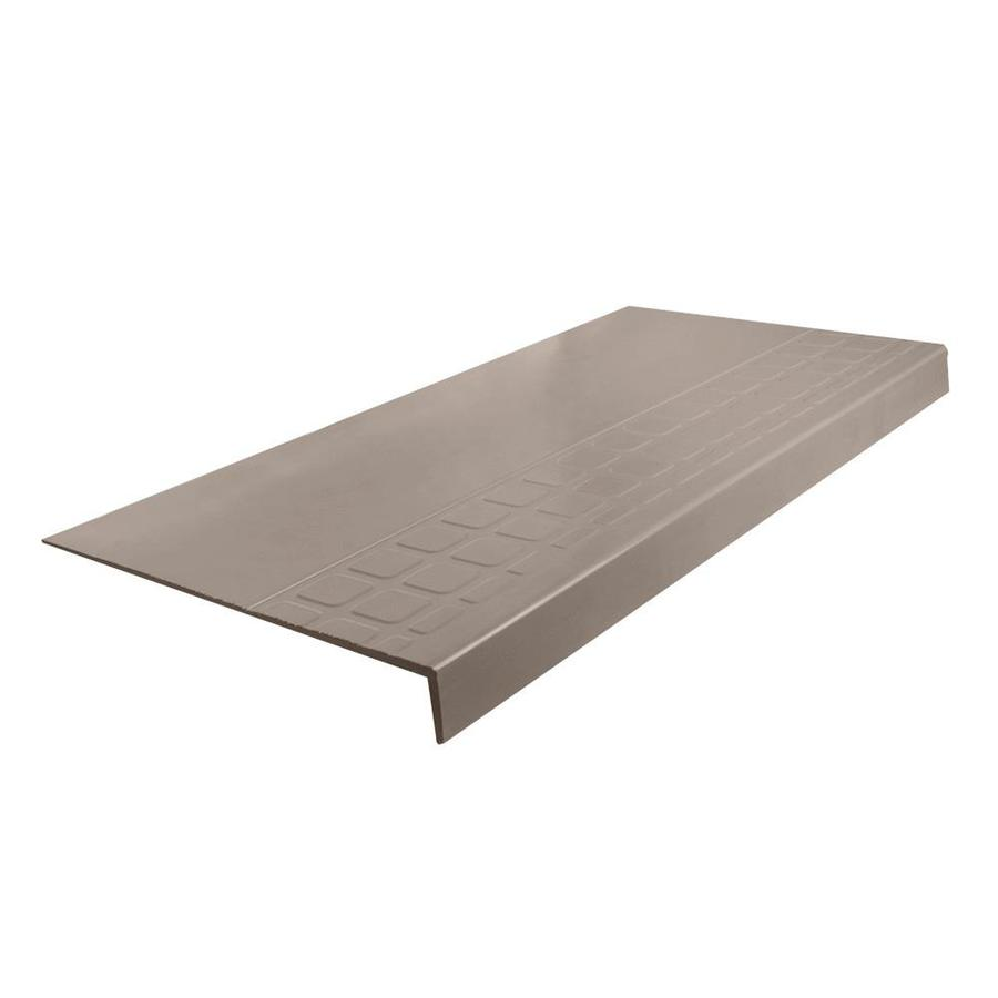 """FLEXCO FLEXCO Rubber Stair Tread Square Design Square Nose #800 54""""x.25""""x12.25"""""""