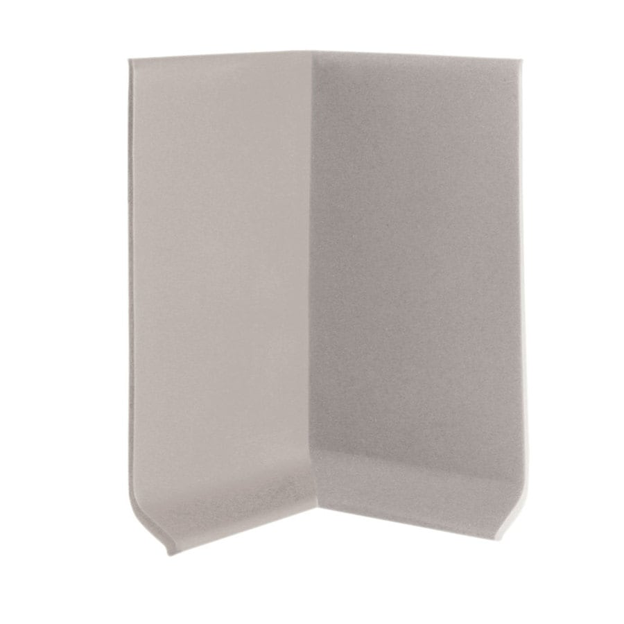 FLEXCO 30-Pack 4-in W x 0.25-ft L Pebble Rubber Inside Corner Wall Base