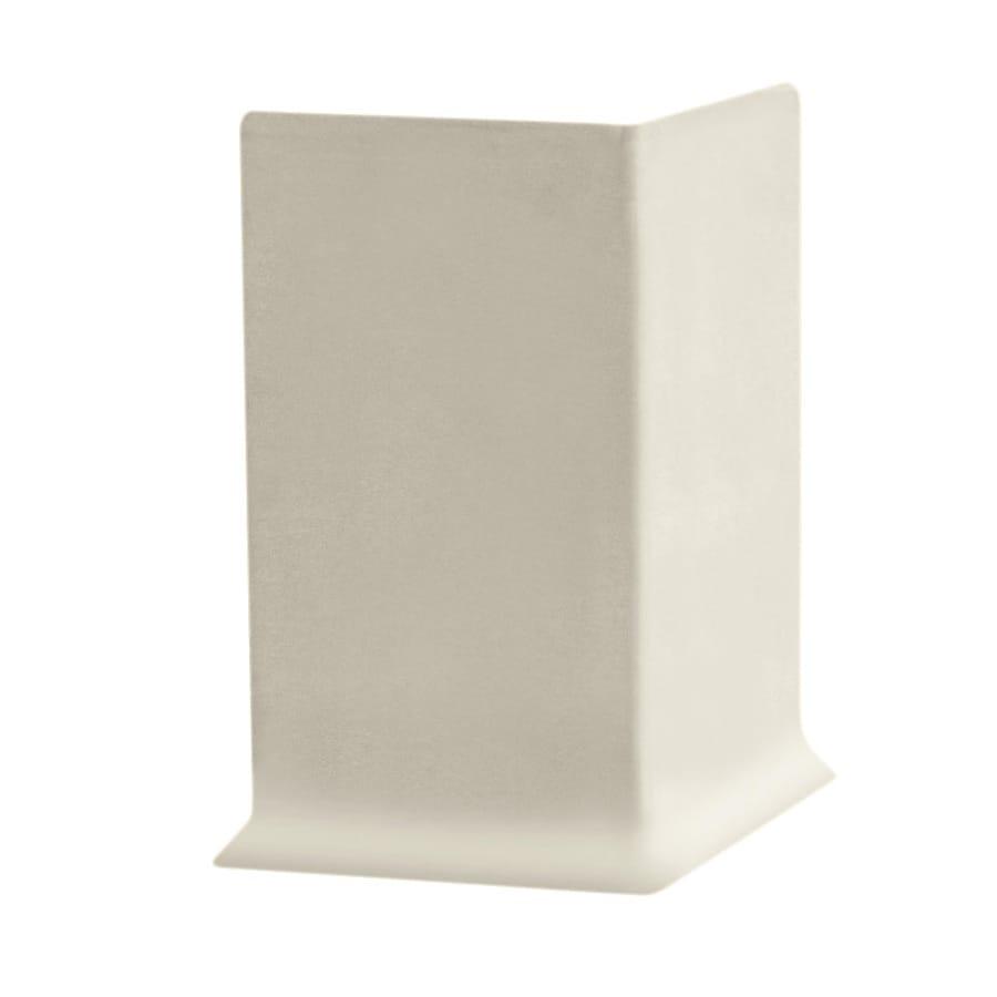 FLEXCO 30-Pack 2.5-in W x 0.25-ft L Neutrail Rubber Outside Corner Wall Base