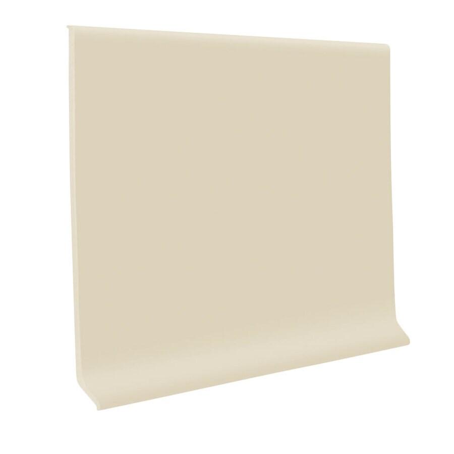 FLEXCO 30-Pack 4-in W x 4-ft L Neutrail Rubber Wall Base