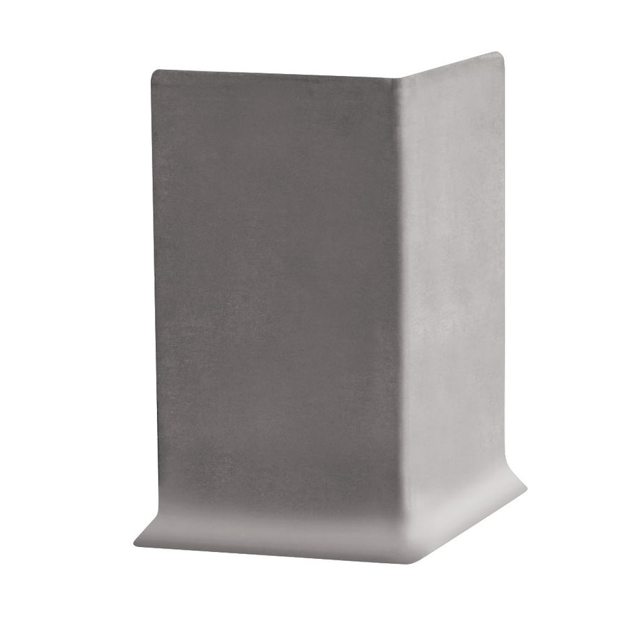 FLEXCO 30-Pack 4-in W x 0.25-ft L Pebble Vinyl Outside Corner Wall Base