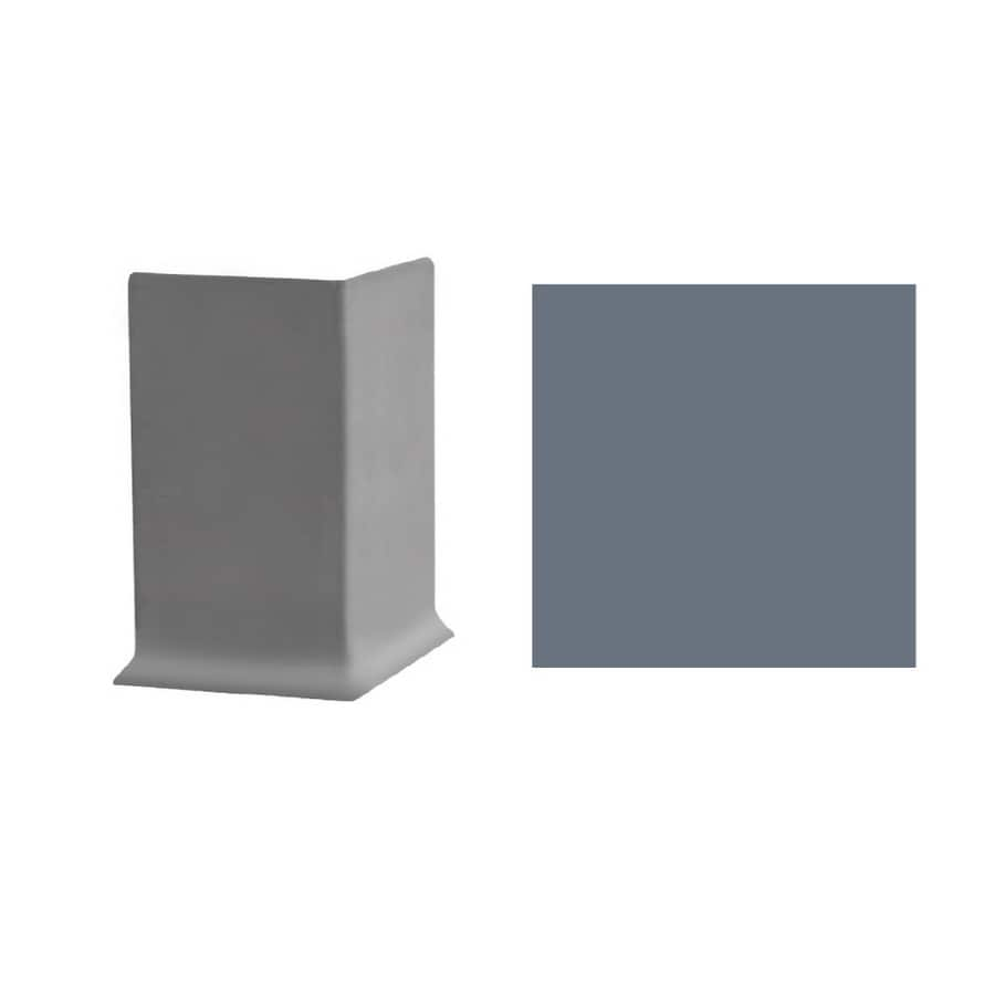 FLEXCO 30-Pack 3-in W x 3-in L Blue Shadow Outside Corner Vinyl Wall Base