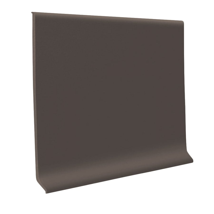 FLEXCO 30-Pack 6-in W x 4-ft L Bark Rubber Wall Base