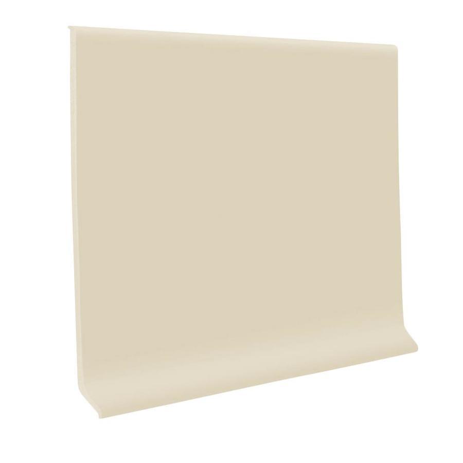 FLEXCO 30-Pack 6-in W x 4-ft L Neutrail Rubber Wall Base