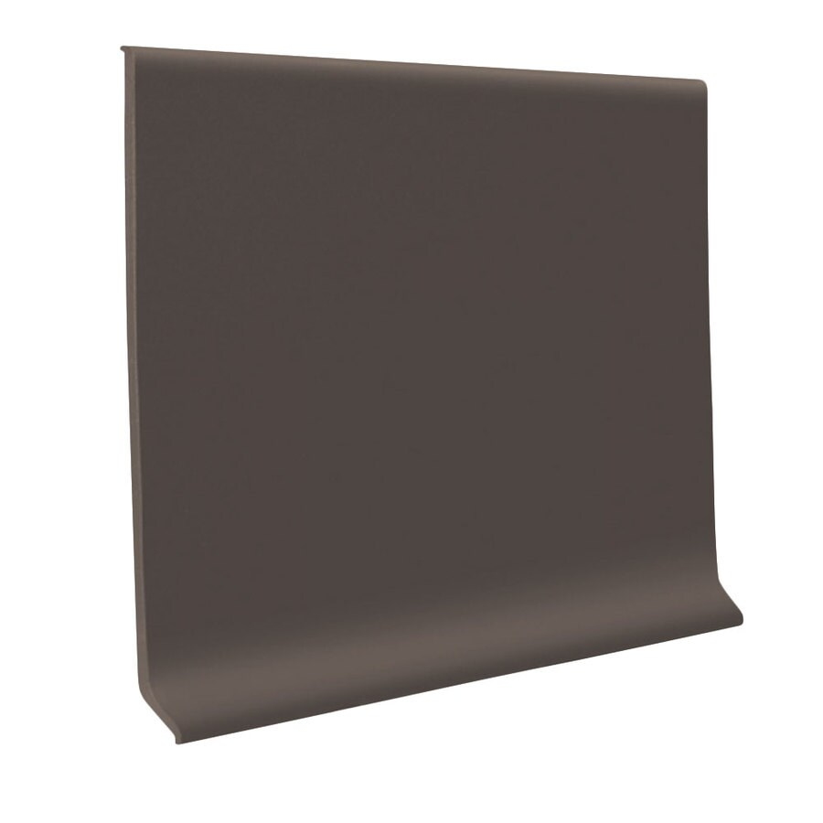 FLEXCO Wall Base Rbr 6-in Bark