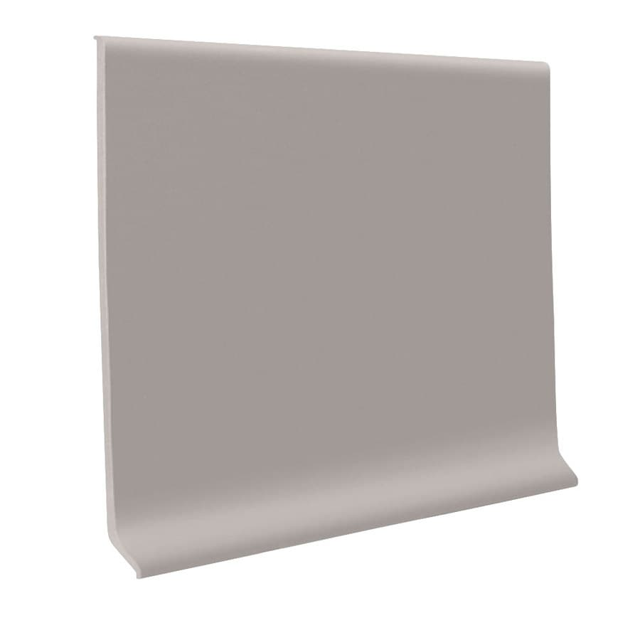 FLEXCO Wall Base Rbr 6-in Pebble