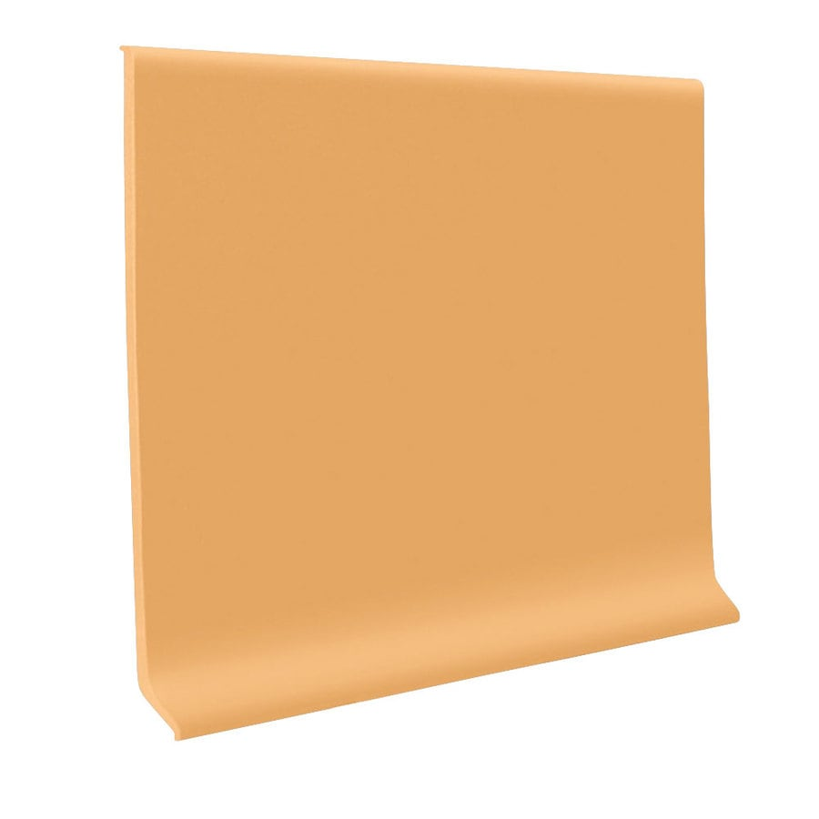 FLEXCO 6-in W x 120-ft L Sunflower Flexco Vinyl Wall Base