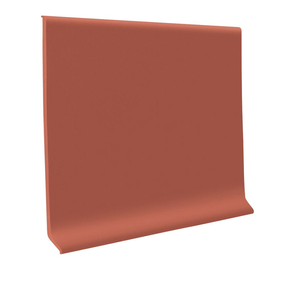 FLEXCO 6-in W x 120-ft L Earth Flexco Vinyl Wall Base
