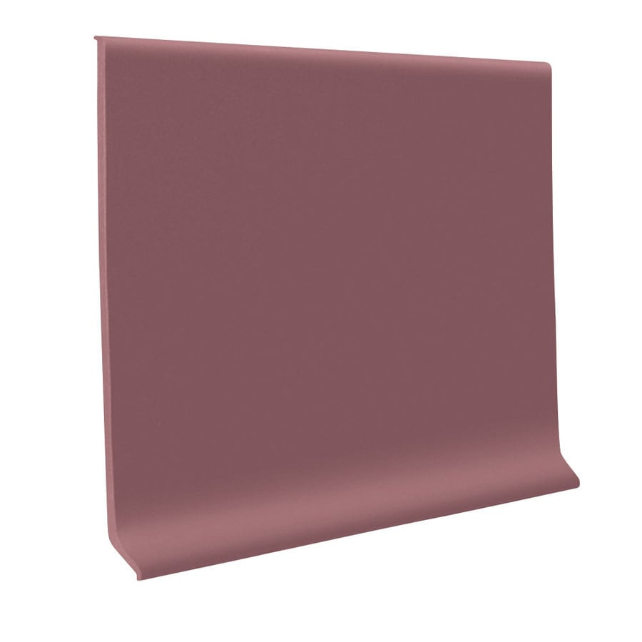 FLEXCO 30-Pack 6-in W x 4-ft L Plum Pudding Flexco Vinyl Wall Base VCB