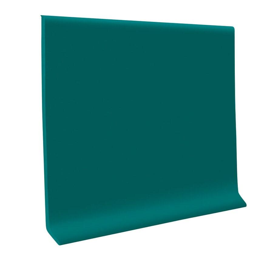 FLEXCO 2-1/2-in W x 120-ft L Polo Green Flexco Vinyl Wall Base VCB