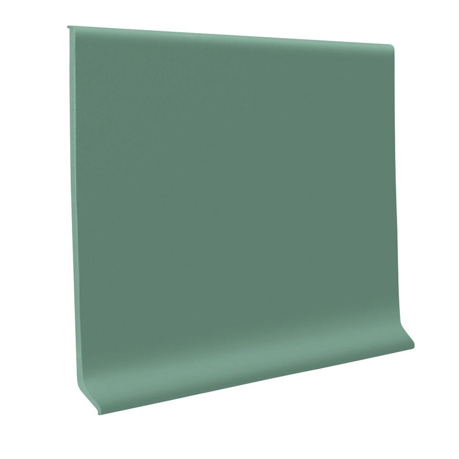 FLEXCO 4-in W x 120-ft L Vizcaya Palm Flexco Vinyl Wall Base VCB