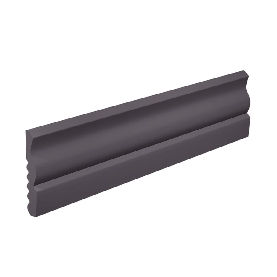 FLEXCO 2.625-in W x 40-ft L Charcoal Thermoplastic Rubber Wall Base
