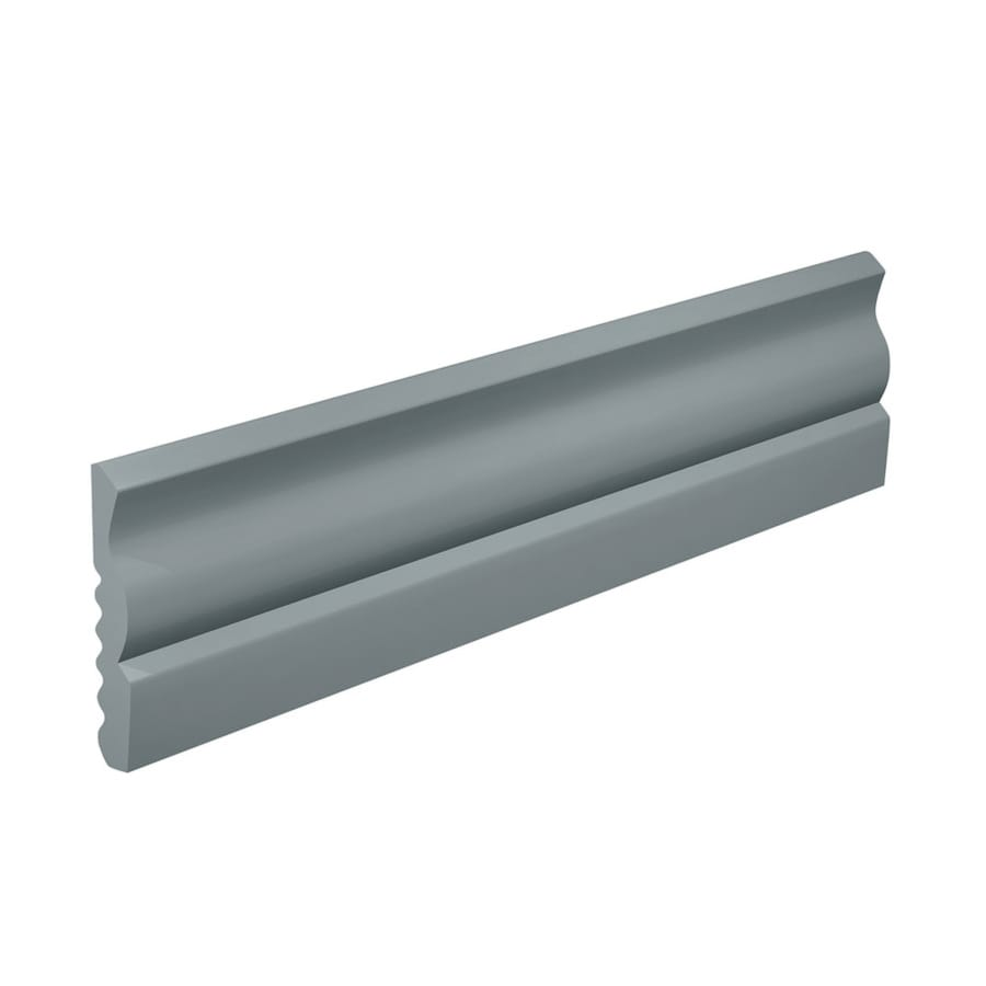 FLEXCO 2.625-in W x 40-ft L Medium Gray Thermoplastic Rubber Wall Base