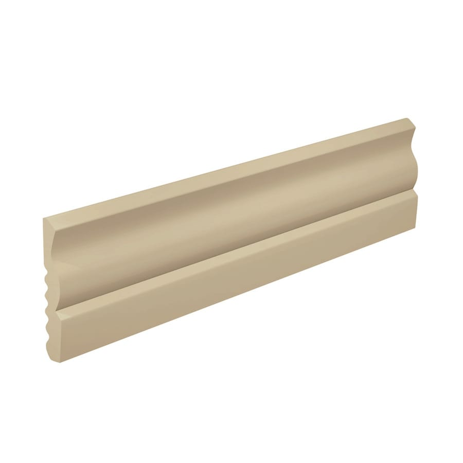 FLEXCO 2.625-in W x 40-ft L Neutral Thermoplastic Rubber Wall Base