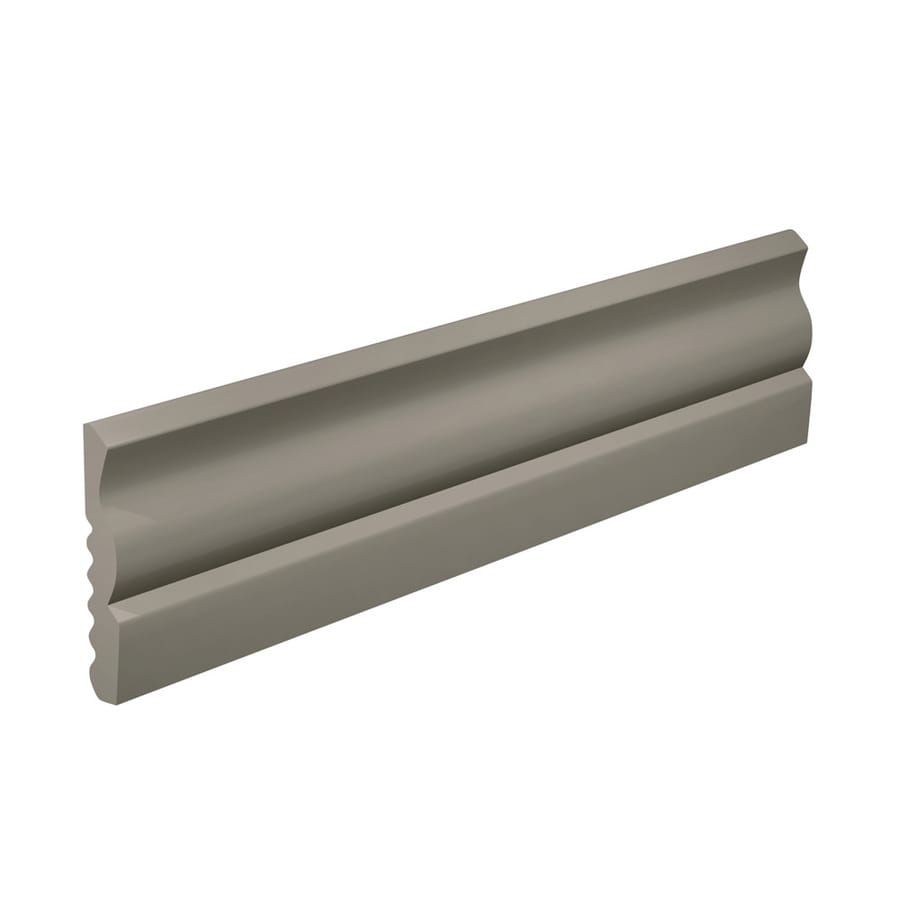 FLEXCO 2.625-in W x 40-ft L Stone Thermoplastic Rubber Wall Base