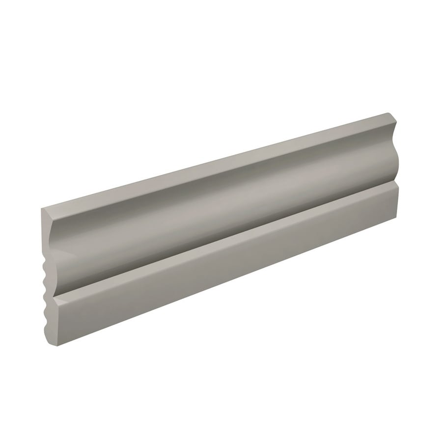 FLEXCO 2.625-in W x 40-ft L Light Gray Thermoplastic Rubber Wall Base