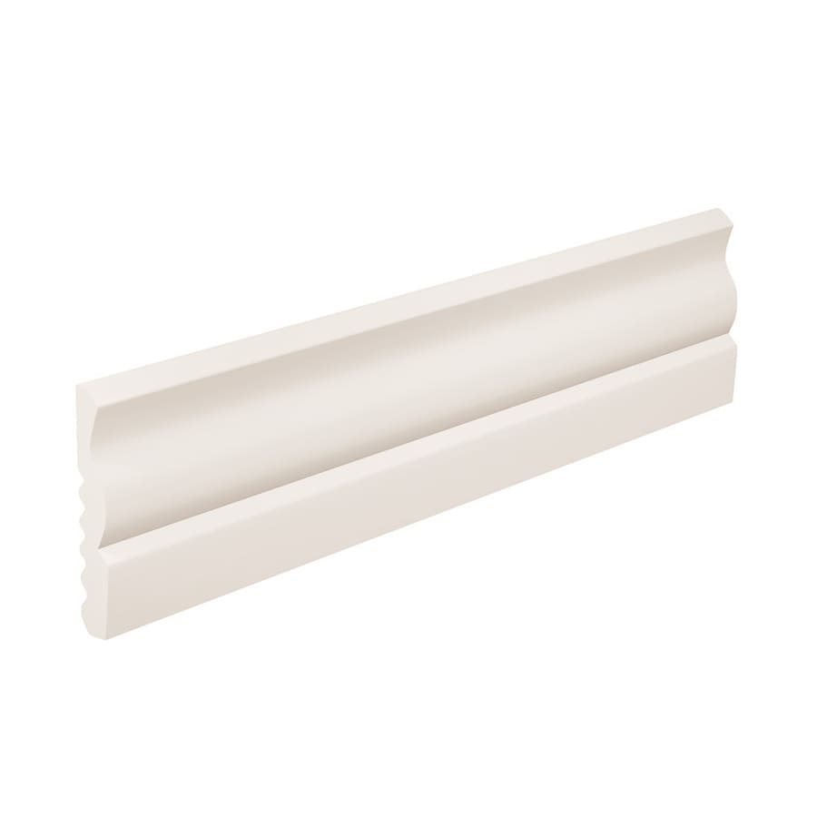 FLEXCO 2.625-in W x 40-ft L Arctic White Thermoplastic Rubber Wall Base