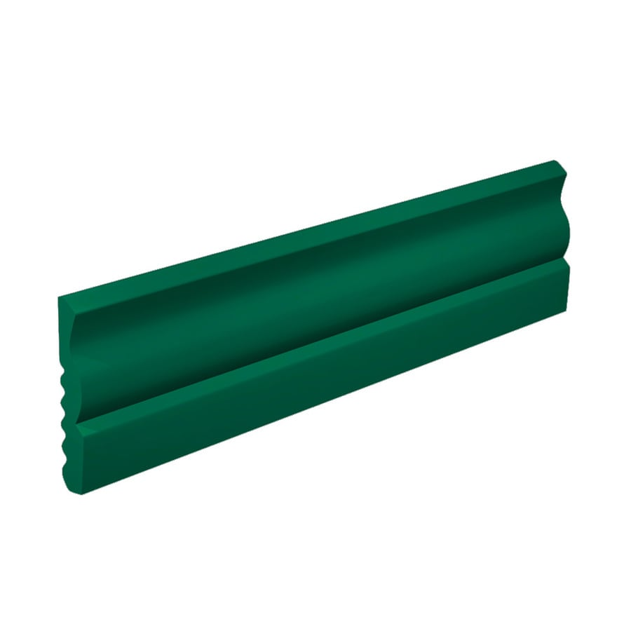 FLEXCO 2-5/8-in W x 40-ft L Polo Green Vinyl Wall Base