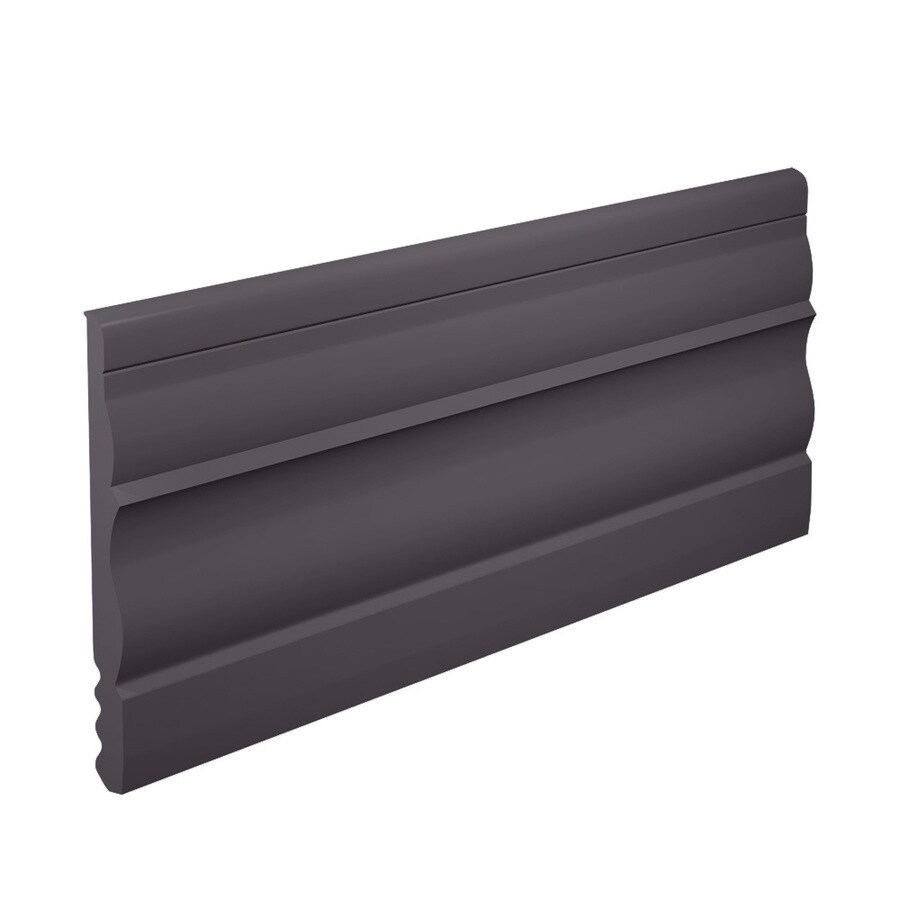 FLEXCO 4.5-in W x 40-ft L Charcoal Thermoplastic Rubber Wall Base