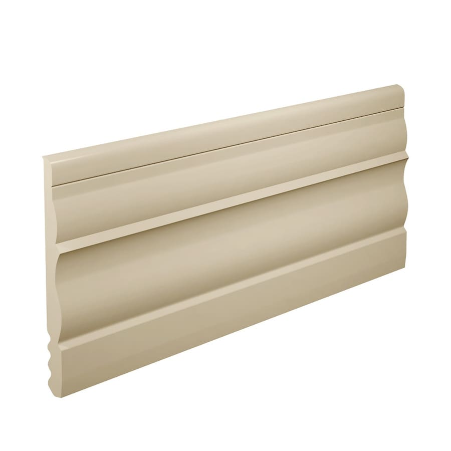 FLEXCO 4.5-in W x 40-ft L Neutral Thermoplastic Rubber Wall Base