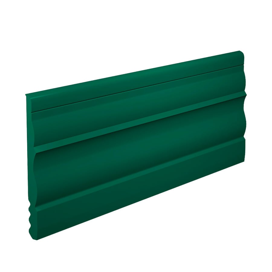 FLEXCO 4-1/2-in W x 40-ft L Polo Green Vinyl Wall Base