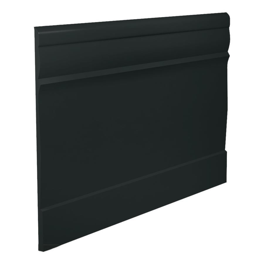 FLEXCO 7.75-in W x 40-ft L Black Dahlia Thermoplastic Rubber Wall Base