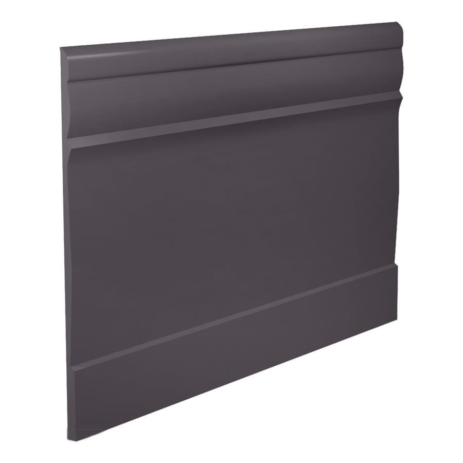 FLEXCO 7.75-in W x 40-ft L Charcoal Thermoplastic Rubber Wall Base