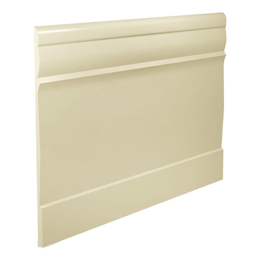 FLEXCO 7.75-in W x 40-ft L Almond Thermoplastic Rubber Wall Base