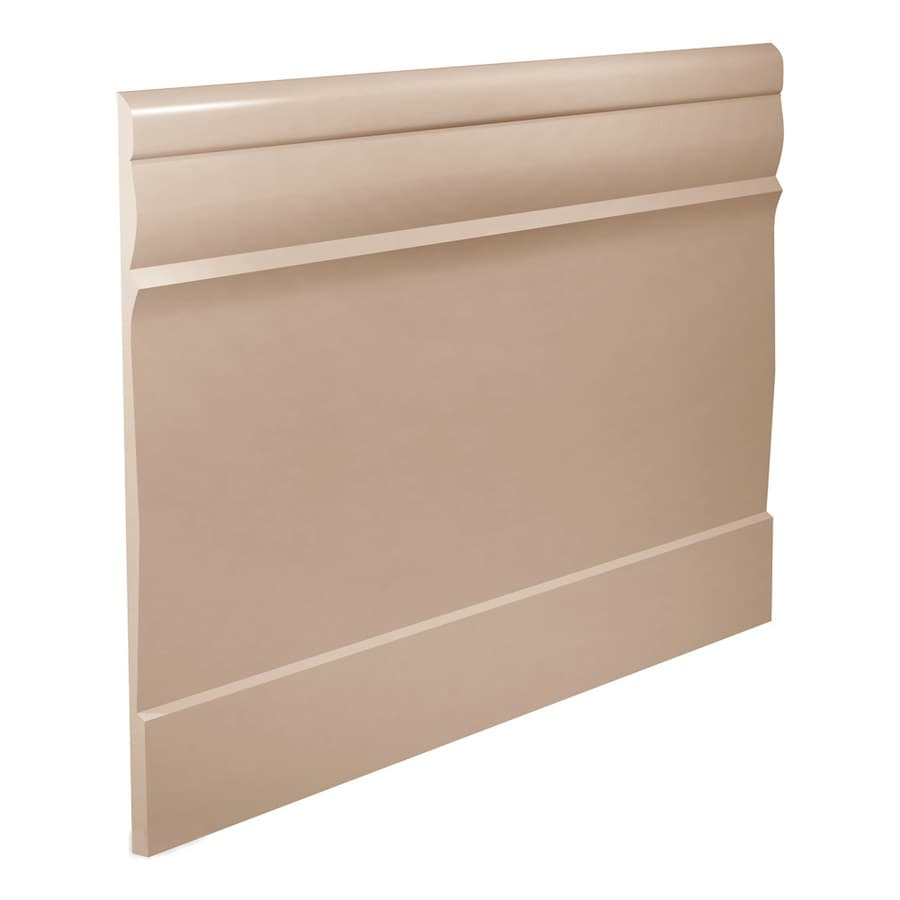 FLEXCO 7.75-in W x 40-ft L Dune Thermoplastic Rubber Wall Base