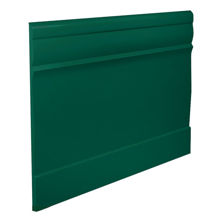FLEXCO 7-3/4-in W x 40-ft L Polo Green Vinyl Wall Base