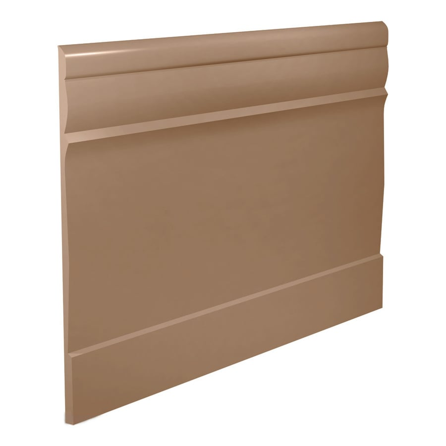 FLEXCO 7.75-in W x 40-ft L Cappuccino Thermoplastic Rubber Wall Base