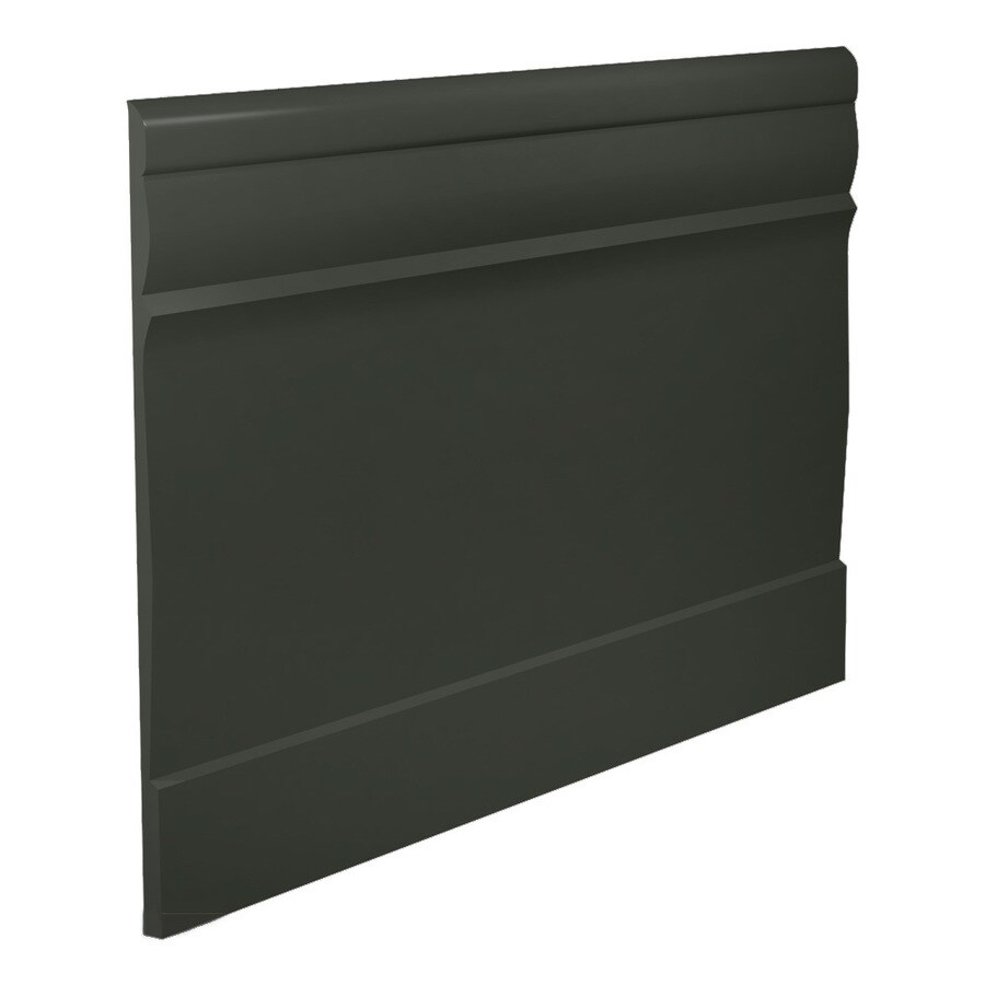 FLEXCO 7.75-in W x 40-ft L Black and Brown Thermoplastic Rubber Wall Base