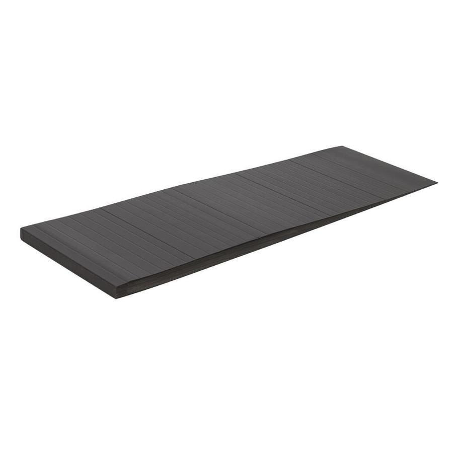 Shop Flexco Subfloor Leveler 12 In X 48 In Gray Vinyl