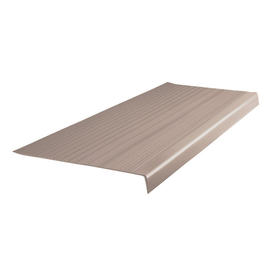 FLEXCO 12.5-in x 42-in Bagel Vinyl Square Nose Stair Treads