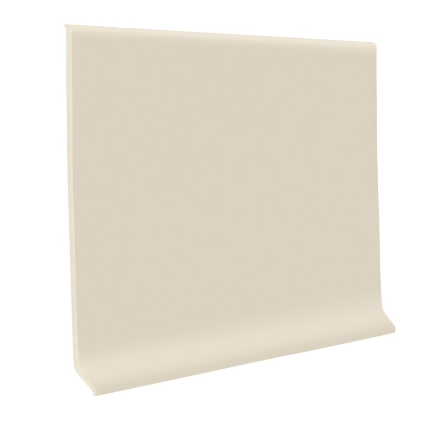 FLEXCO 4-in W x 120-ft L Meridian Bone Vinyl Wall Base