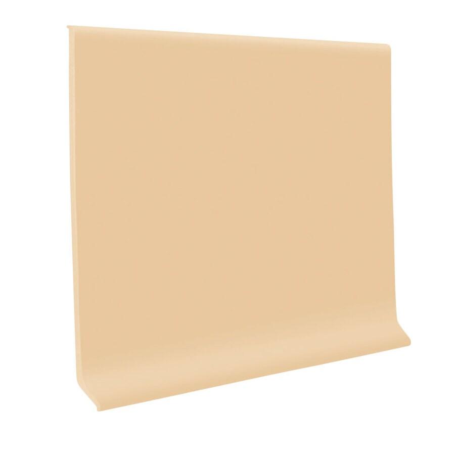 FLEXCO 30-Pack 2.5-in W x 4-ft L Honey Vinyl Wall Base