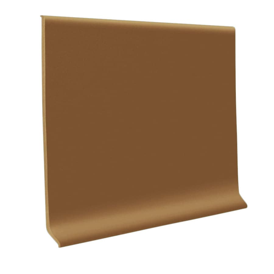 FLEXCO 30-Pack 4-in W x 4-ft L Ginger Vinyl Wall Base
