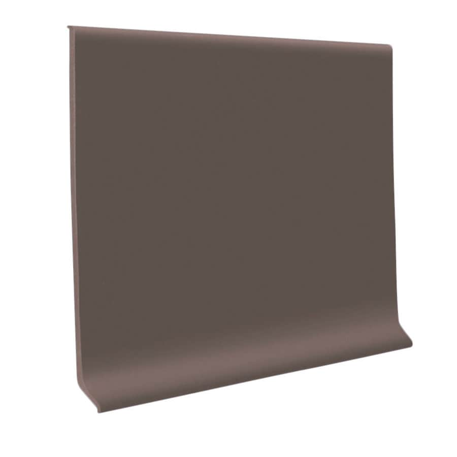 FLEXCO 30-Pack 4-in W x 4-ft L Driftwood Vinyl Wall Base
