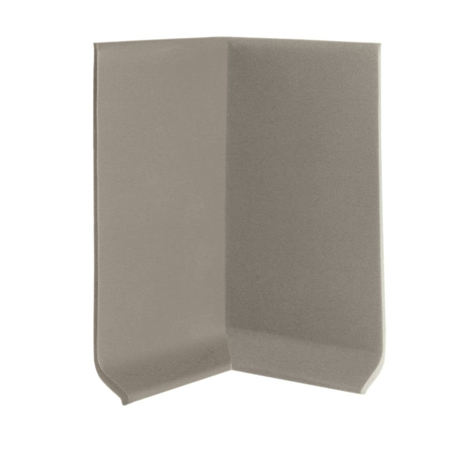 FLEXCO 30-Pack 4-in W x 0.25-ft L Stone Vinyl Inside Corner Wall Base