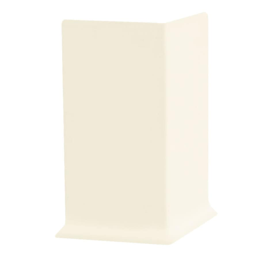 FLEXCO 30-Pack 2.5-in W x 0.25-ft L Baby Breath Vinyl Outside Corner Wall Base