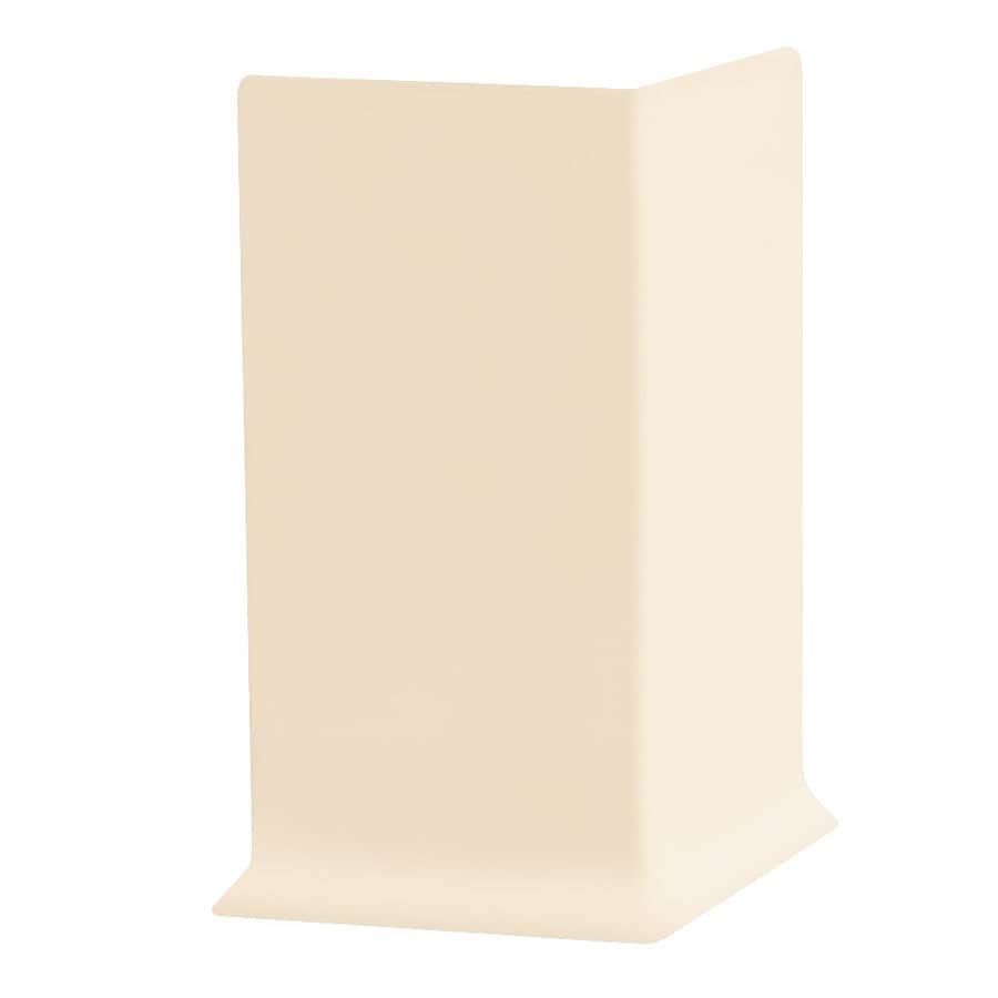 FLEXCO 30-Pack 2.5-in W x 0.25-ft L Almond Vinyl Outside Corner Wall Base
