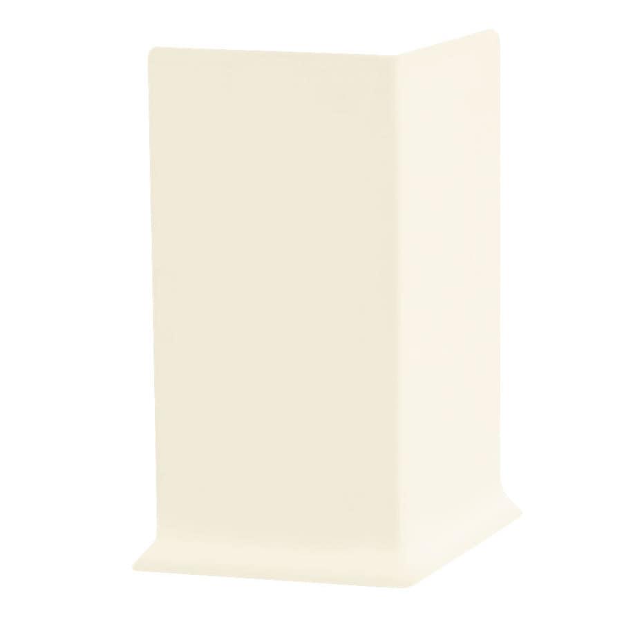 FLEXCO 30-Pack 4-in W x 0.25-ft L Baby Breath Vinyl Outside Corner Wall Base
