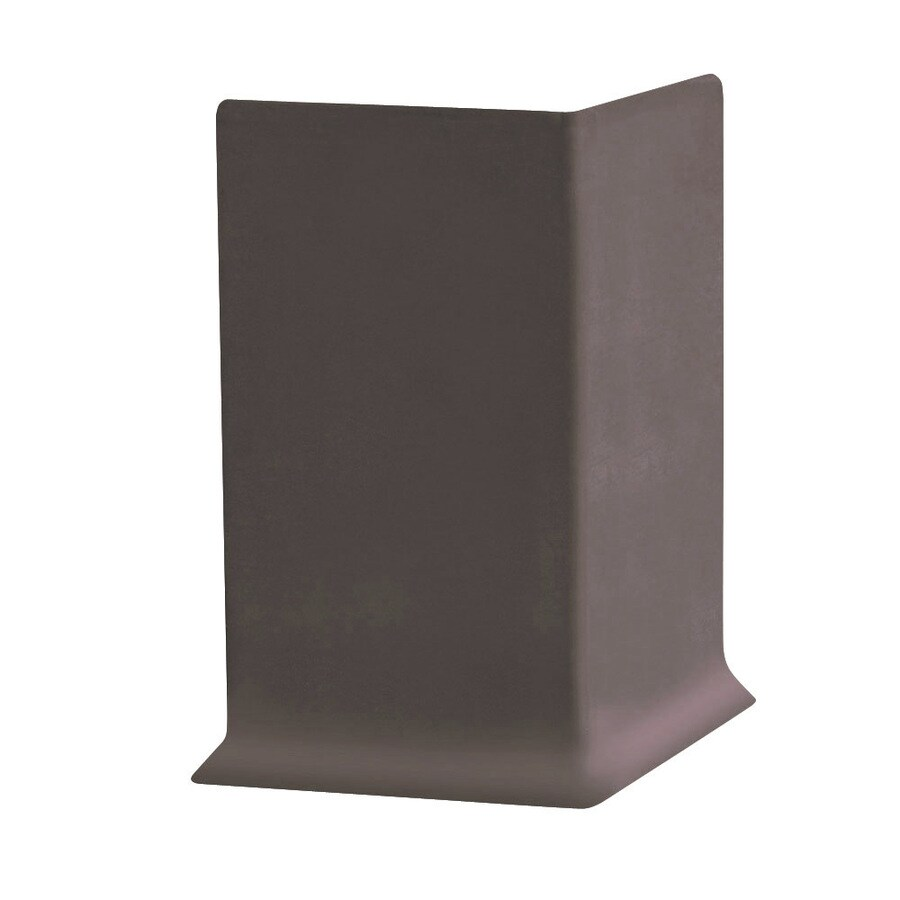FLEXCO 30-Pack 4-in W x 0.25-ft L Coffee Bean Vinyl Outside Corner Wall Base