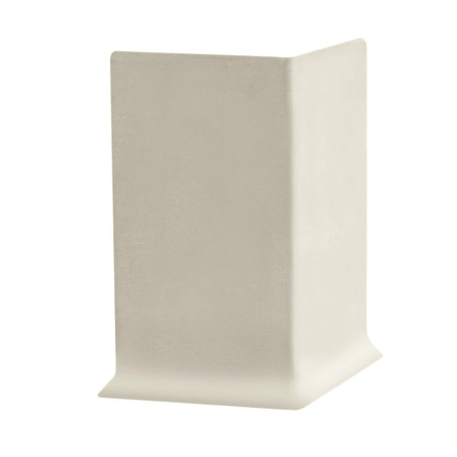 FLEXCO 30-Pack 4-in W x 0.25-ft L Neutrail Vinyl Outside Corner Wall Base