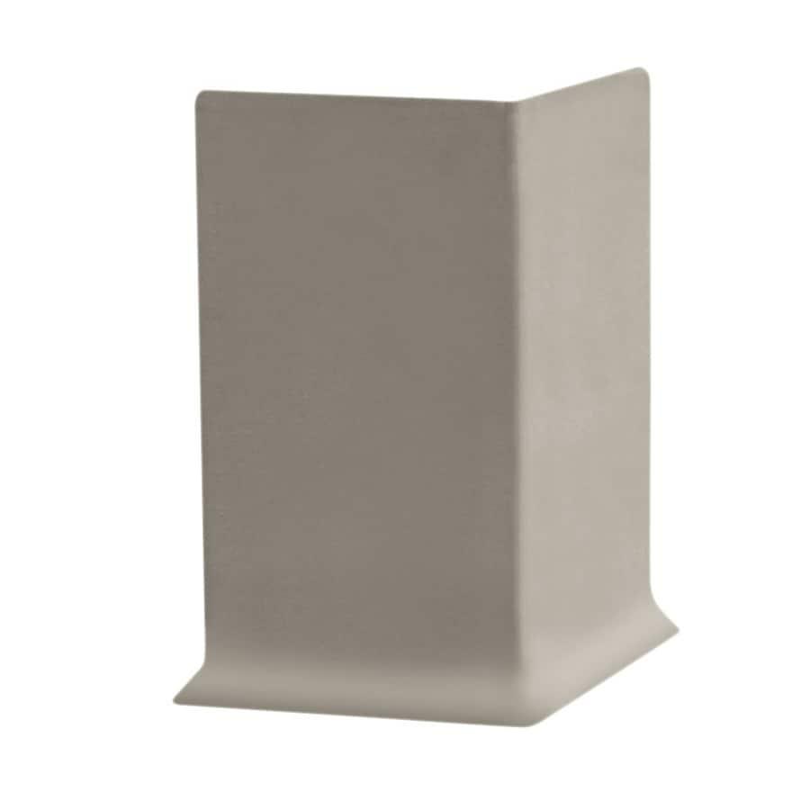 FLEXCO 30-Pack 4-in W x 0.25-ft L Stone Vinyl Outside Corner Wall Base